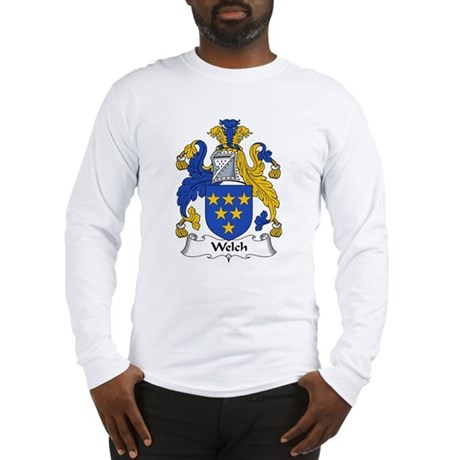 Welch Family Crest Long Sleeve T-Shirt