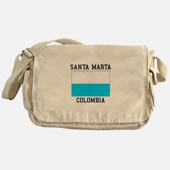 Santa Marta, Colombia Messenger Bag