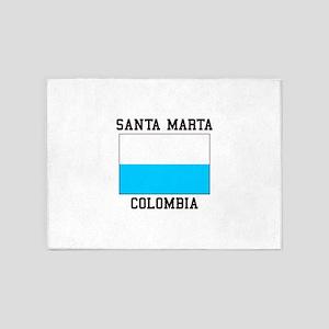 Santa Marta, Colombia 5'x7'Area Rug