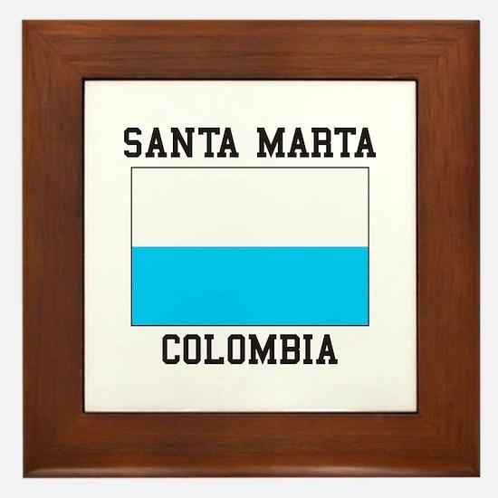 Santa Marta, Colombia Framed Tile