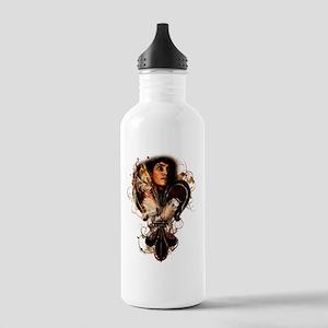 St. Joan of Arc: Fleur Stainless Water Bottle 1.0L
