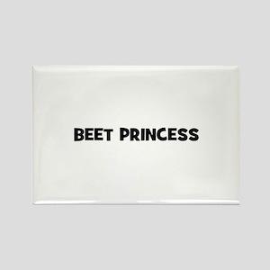 beet princess Rectangle Magnet