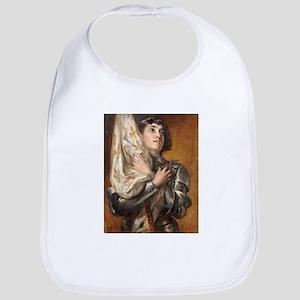 Portrait of Saint Joan of Arc Bib