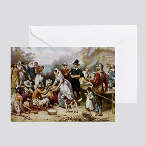 The First Thanksgiving Greeting Card