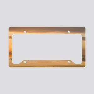 Egyptian Pyramids License Plate Holder