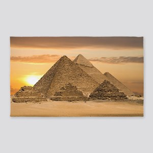 Egyptian Pyramids Area Rug
