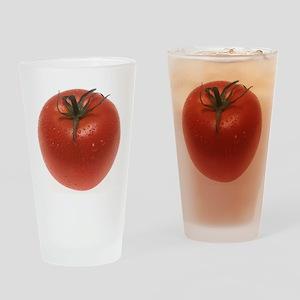 Fresh Tomato Drinking Glass