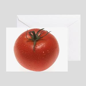 Fresh Tomato Greeting Card