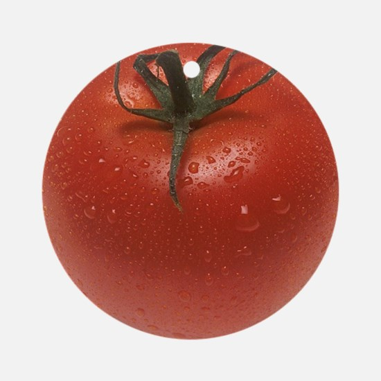 Fresh Tomato Round Ornament