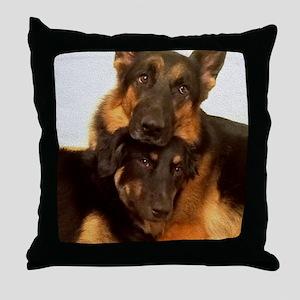 Shepherd Love Throw Pillow