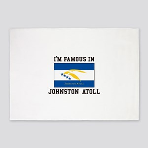 Famous Johnston Atoll 5'x7'Area Rug