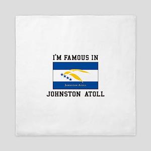 Famous Johnston Atoll Queen Duvet