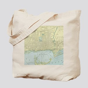 Vintage Map of Toronto (1901) Tote Bag