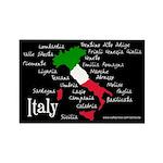 BellaVita Italy Rectangle Magnet (10 pack)