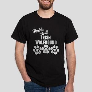 Worlds Best Irish Wolfhound Mom T-Shirt