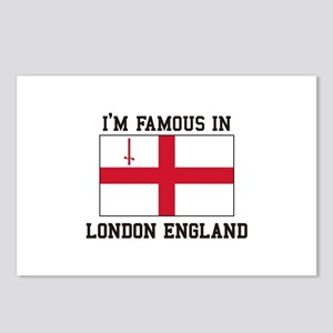 I'm Famous in London England Postcards (Package of