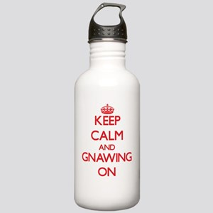 Keep Calm and Gnawing Stainless Water Bottle 1.0L