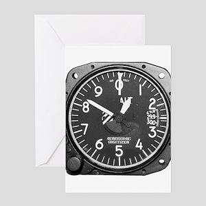 Altimeter Greeting Cards