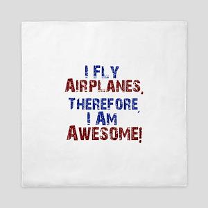 airplanes Queen Duvet