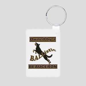 Ballistic Beauceron Portrait Keychains