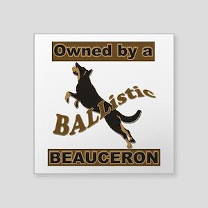 Ballistic Beauceron Portrait Sticker