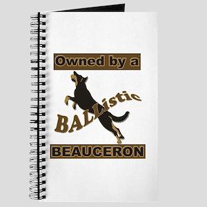 Ballistic Beauceron Portrait Journal