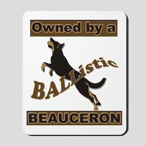 Ballistic Beauceron Portrait Mousepad