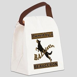 BALListic Beauceron portrait Canvas Lunch Bag