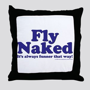 Fly copy Throw Pillow