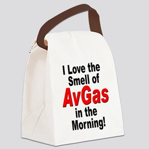 LoveAvGas Canvas Lunch Bag