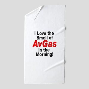 LoveAvGas Beach Towel