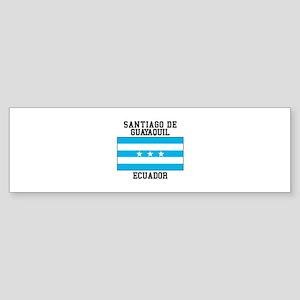 Santiago de Guayaquil Ecuador Bumper Sticker