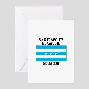 Santiago de Guayaquil Ecuador Greeting Cards