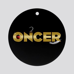 Once Upon A Time Oncer Round Ornament