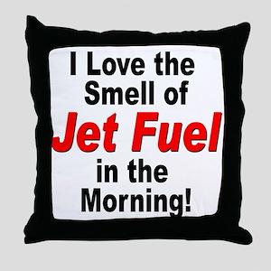 LoveJetFuel Throw Pillow