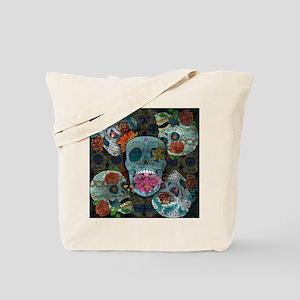 Sugar Skulls Design Tote Bag