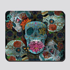 Sugar Skulls Design Mousepad