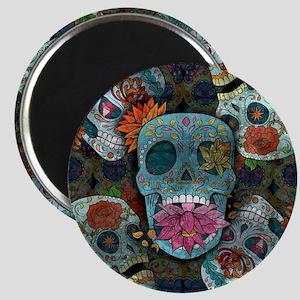 Sugar Skulls Design Magnet
