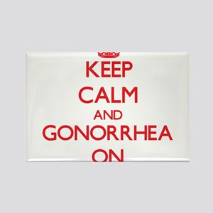 Keep Calm and Gonorrhea ON Magnets