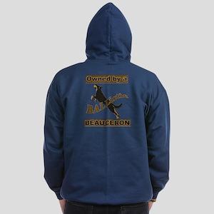 Ballistic Beauceron Zip Hoodie (dark)