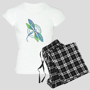 Decorative Dragonfly Pajamas