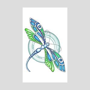 Decorative Dragonfly Sticker