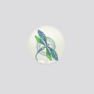Decorative Dragonfly Mini Button (10 pack)