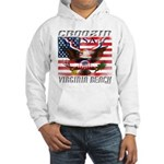 Virginia Beach Hooded Sweatshirt