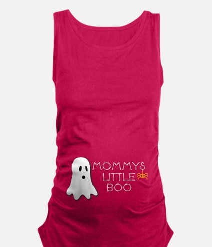 Mommys little boo Maternity Tank Top