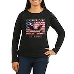 Cruising St. Loui Women's Long Sleeve Dark T-Shirt