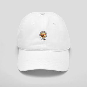 Kansas State Seal Baseball Cap
