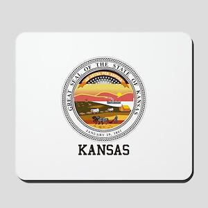 Kansas State Seal Mousepad