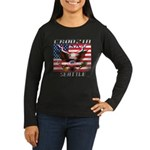 Cruising Seattle Women's Long Sleeve Dark T-Shirt