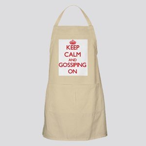 Keep Calm and Gossiping ON Apron